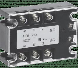 OSS-1-3-40-B ONI Реле твердотельное OSS-1 40А 380В AC 3-32В DC ONI