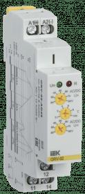 ORV-02-AD48 IEK ( ИЭК ) Реле контроля напряжения ORV 1 фаза 24-48В AC/DC IEK