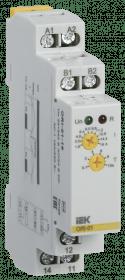 ORI-01-16 IEK ( ИЭК ) Реле контроля тока ORI 1,6-16А 24-240В AC/24В DC IEK