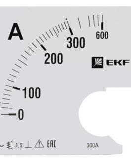 s-a961-300 EKF (ЕКФ) Шкала сменная для A961 300/5А-1,5 EKF PROxima