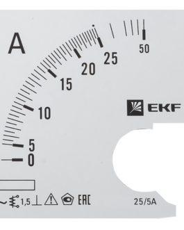 s-a961-25 EKF (ЕКФ) Шкала сменная для A961 25/5А-1,5 EKF PROxima