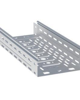 L10040001-1,5-HDZ EKF (ЕКФ) Лоток перфорированный 100х400х3000-1,5мм (12 м) HDZ EKF