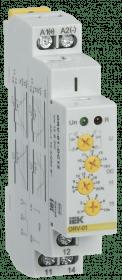 ORV-01-DC12 IEK ( ИЭК ) Реле контроля напряжения ORV 1 фаза 12В DC IEK