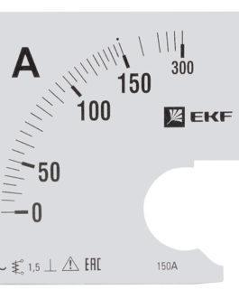s-a961-150 EKF (ЕКФ) Шкала сменная для A961 150/5А-1,5 EKF PROxima
