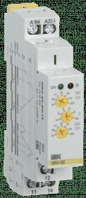ORV-02-DC12 IEK ( ИЭК ) Реле контроля напряжения ORV 1 фаза 12В DC IEK