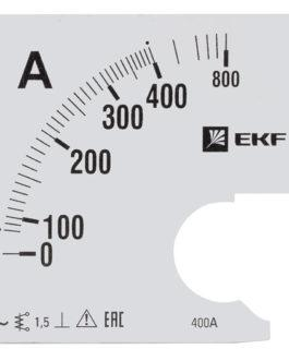 s-a961-400 EKF (ЕКФ) Шкала сменная для A961 400/5А-1,5 EKF PROxima