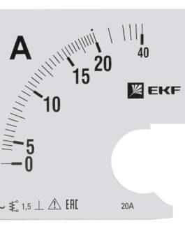 s-a961-20 EKF (ЕКФ) Шкала сменная для A961 20/5А-1,5 EKF PROxima