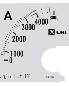 s-a961-4000 EKF (ЕКФ) Шкала сменная для A961 4000/5А-1,5 EKF PROxima