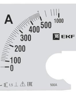 s-a961-500 EKF (ЕКФ) Шкала сменная для A961 500/5А-1,5 EKF PROxima