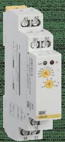 ORI-01-2 IEK ( ИЭК ) Реле контроля тока ORI 0,2-2А 24-240В AC/24В DC IEK