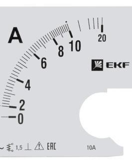 s-a961-10 EKF (ЕКФ) Шкала сменная для A961 10/5А-1,5 EKF PROxima