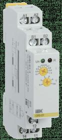ORI-01-1 IEK ( ИЭК ) Реле контроля тока ORI 0,1-1А 24-240В AC/24В DC IEK