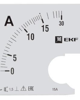 s-a961-15 EKF (ЕКФ) Шкала сменная для A961 15/5А-1,5 EKF PROxima