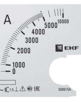 s-a961-5000 EKF (ЕКФ) Шкала сменная для A961 5000/5А-1,5 EKF PROxima
