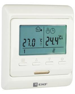 ett-1 EKF (ЕКФ) Термостат для теплых полов электронный 16 A 230В с датчиком пола  EKF Proxima