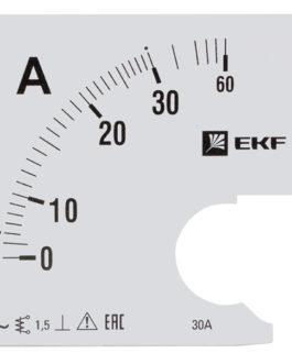 s-a961-30 EKF (ЕКФ) Шкала сменная для A961 30/5А-1,5 EKF PROxima