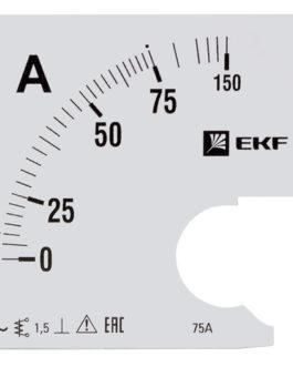s-a961-75 EKF (ЕКФ) Шкала сменная для A961 75/5А-1,5 EKF PROxima