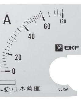 s-a961-60 EKF (ЕКФ) Шкала сменная для A961 60/5А-1,5 EKF PROxima