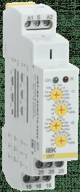 ORT-S2-ACDC12-240V IEK ( ИЭК ) Реле циклическое ORT 2 контакта 12-240В AC/DC IEK