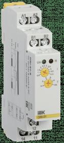 ORI-01-5 IEK ( ИЭК ) Реле контроля тока ORI 0,5-5А 24-240В AC/24В DC IEK