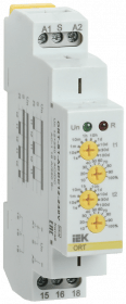 ORT-S1-ACDC12-240V IEK ( ИЭК ) Реле циклическое ORT 1 контакт 12-240В AC/DC IEK