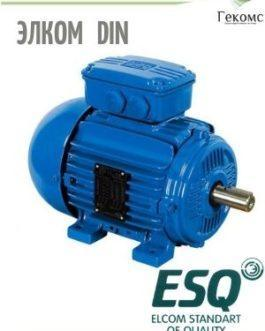 71B2 Элком(ESQ) Электродвигатель DIN-стандарта 71B2-SDN-0.55/3000