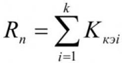 Определение параметров, влияющих на электропотребление промышленного предприятия, с помощью метода экспертных оценок 5