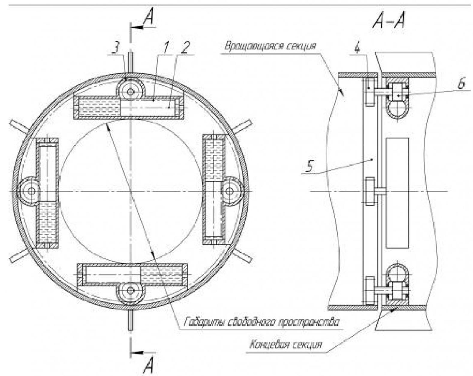 Рисунок 2 – Схема гидропривода геохода с плунжерными гидроцилиндрами