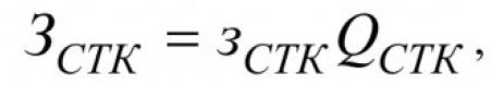 По аналогии с затратами на конденсаторные установки затраты на СТК в наиболее общем случае могут быть представлены в виде:
