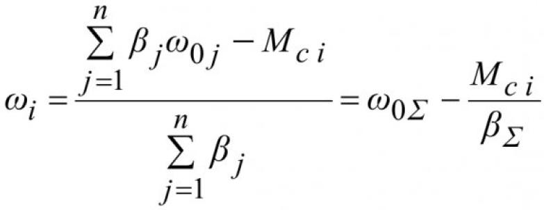 Распределение нагрузок в многодвигательных электроприводах 7