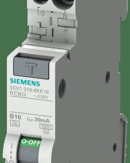 5SV1316-7LK10 Siemens Промышленная автоматизация Выключатель защиты от токов повреждения