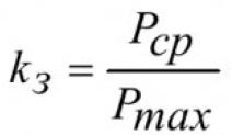 Анализ коэффициента загрузки силовых трансформаторов в электрической сети промышленного предприятия 4