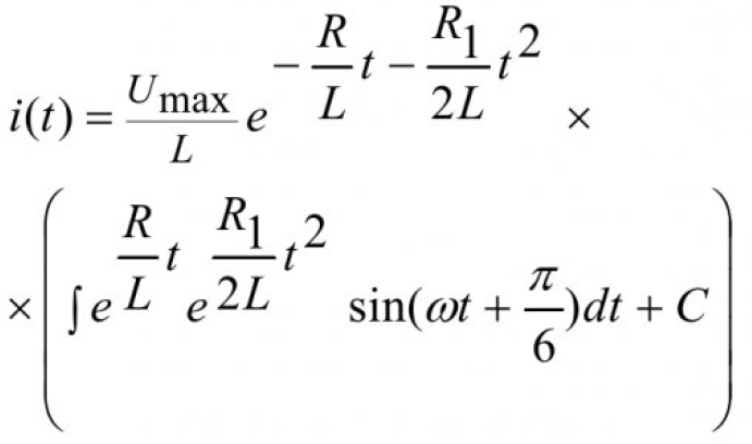 Математическое моделирование тиристорного преобразователя с учетом нелинейности тиристора 11