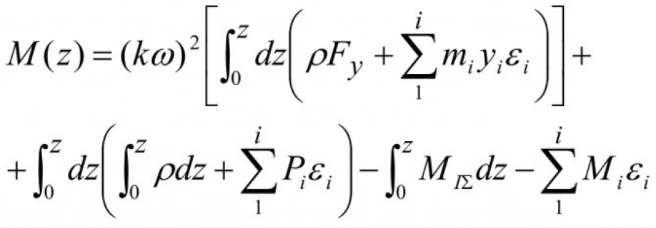 Об одной модели механических колебаний вентилятора главного проветривания 10