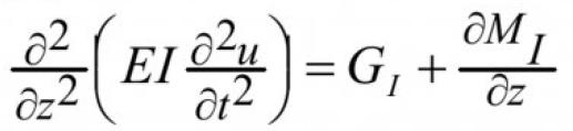Об одной модели механических колебаний вентилятора главного проветривания 5