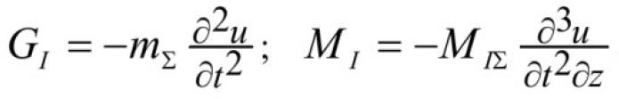Об одной модели механических колебаний вентилятора главного проветривания 6