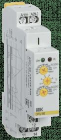 ORV-02-AD110-240 IEK ( ИЭК ) Реле контроля напряжения ORV 1 фаза 110-240В AC/DC IEK