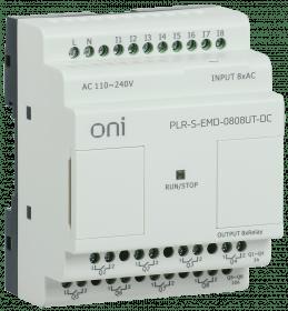 PLR-S-EMD-0808UT-DC ONI Логическое реле PLR-S. Расширение 8DI/8DO (T) 24В DC ONI