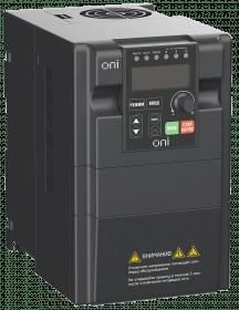 A150-33-37NT ONI Преобразователь частоты A150 380В 3Ф 3,7кВт 10А со встроенным тормозным модулем ONI