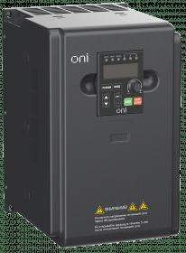 A150-33-75NT ONI Преобразователь частоты A150 380В 3Ф 7,5кВт 17А со встроенным тормозным модулем ONI