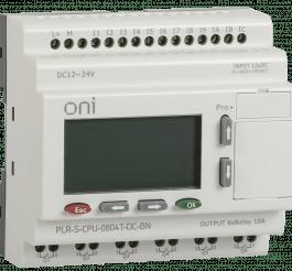 PLR-S-CPU-0804T-DC-BN ONI Логическое реле PLR-S. CPU0804(T) 24В DC с экраном ONI
