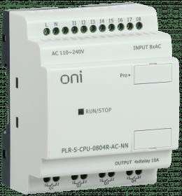 PLR-S-CPU-0804R-AC-NN ONI Логическое реле PLR-S. CPU0804(R) 220В AC без экрана ONI