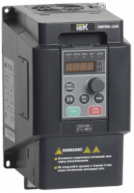 CNT-L620D33V022-004TE ONI Преобразователь частоты CONTROL-L620 380В 3Ф 2,2-4кВт IEK