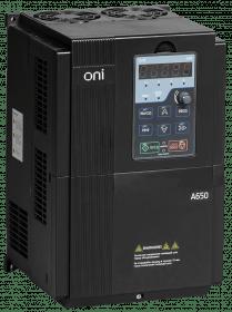 A650-33E18T ONI Преобразователь частоты A650 380В 3Ф 18,5кВт 37А со встроенным тормозным модулем ONI