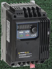 A400-33E022IP20F ONI Преобразователь частоты A400 380В 3Ф 2,2кВт 5,5А серии ONI