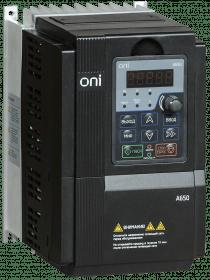 A650-33E075T ONI Преобразователь частоты A650 380В 3Ф 7,5кВт 17А со встроенным тормозным модулем ONI