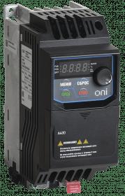 A400-33E037IP20F ONI Преобразователь частоты A400 380В 3Ф 3,7кВт 9,2А серии ONI