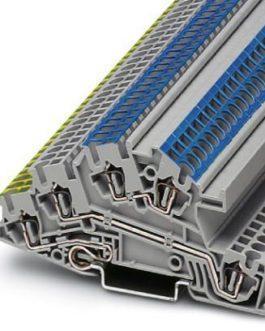 3031843 Заземляющие клеммы для выполнения проводки в зданиях STI 2,5-PE/L/N Phoenix Contact (Феникс Контакт) Промышленное оборудование
