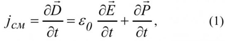 Магнитное поле токов смещения 1