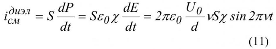 Магнитное поле токов смещения 14